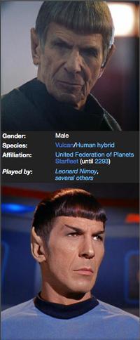 Spock infobox