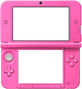 Cadre 3DS rose
