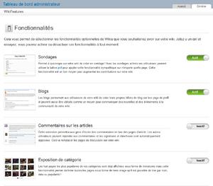 Composants de wiki