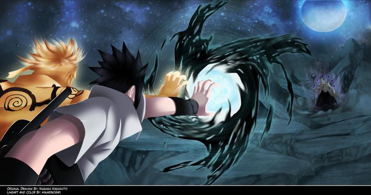 Naruto 641 fuuton rasen kagutshuchi by hikarinogiri-d6fzcjo