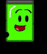 Green Soda Can