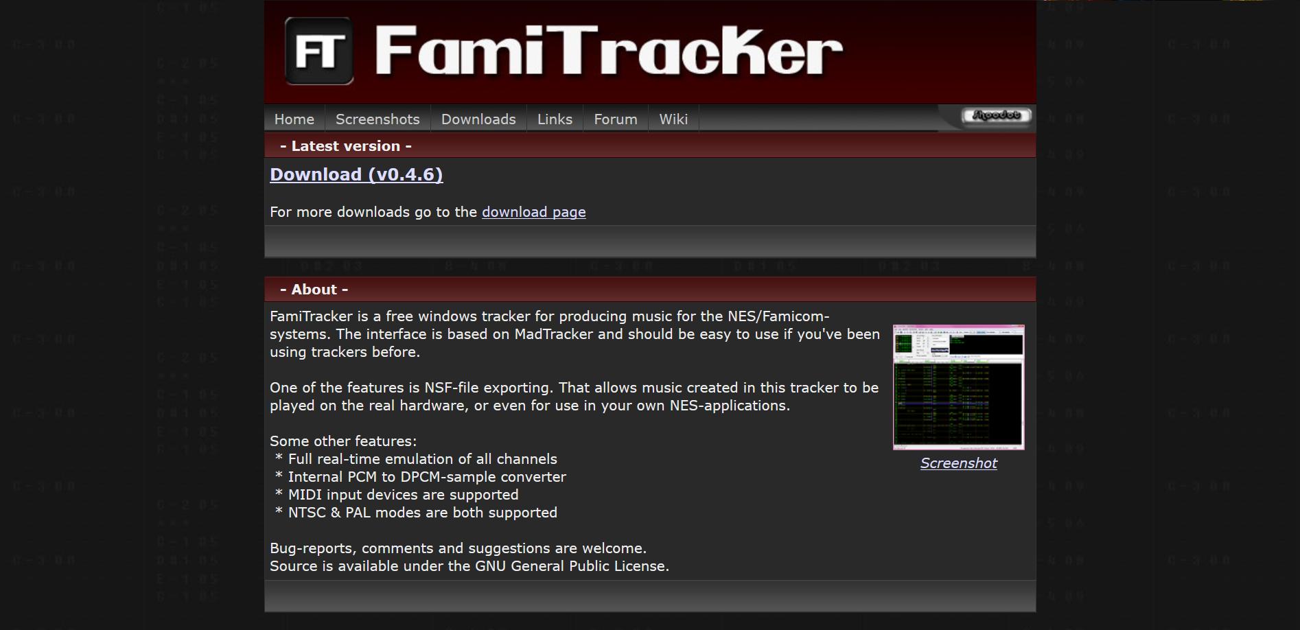 Famitracker com | FamiTracker Community Wiki | FANDOM