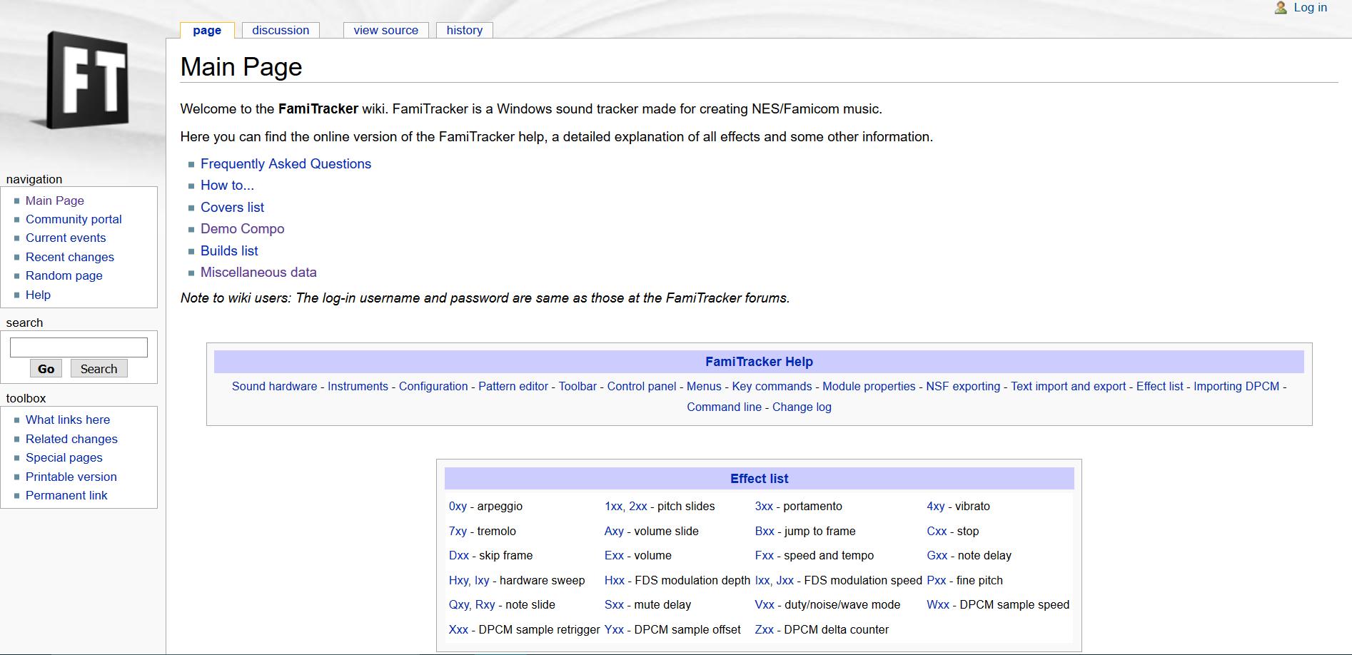 FamiTracker Wiki | FamiTracker Community Wiki | FANDOM