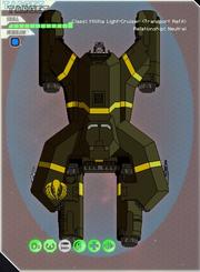 Militia light-cruiser