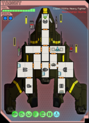Militia heavy fighter