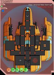 Rebel destroyer