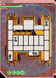 Rebel supply station