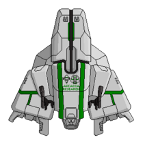 Pc corporate arcadia light cruiser base