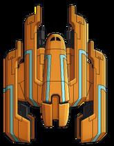 Large rebel ship