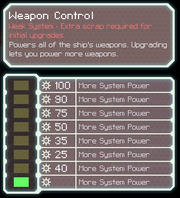 FTL Weapons