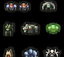 Races/Crew Members