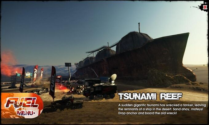 Tsunami Reef