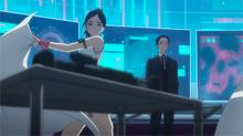 Suzue reveals her weaponry