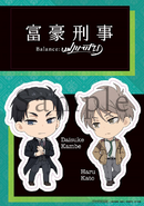 BD & DVD Volume 1 Sticker