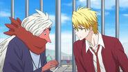 Episode 16 Haruitsuki and Egen converse