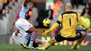 Fulham 2-0 Aston Villa (Sidwell goal)