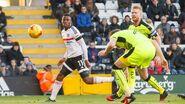 Fulham 5-0 Reading (Gunter own goal)