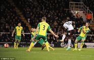Fulham 3-0 Norwich (Bent goal)