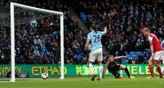 Man City 5-0 Fulham (Demichelis goal)