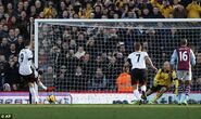 Fulham 2-0 Aston Villa (Berbatov goal)