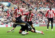 Sunderland 2-2 Fulham (Dejagah fouled)