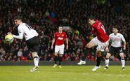 Man Utd 4-1 Fulham (Hernandez 1st goal)