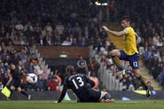 Fulham 1-3 Arsenal (Giroud goal)