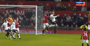 Man Utd 4-1 Fulham (Hughes goal)