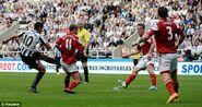 Newcastle 1-0 Fulham (Ben Arfa goal)