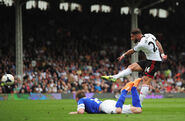 Fulham 1-3 Everton (Dejagah goal)