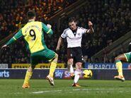 Norwich 1-2 Fulham (Parker goal)