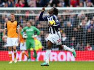West Brom 1-2 Fulham (Lukaku goal)