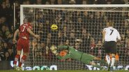 Fulham 1-1 Southampton (Lambert goal)