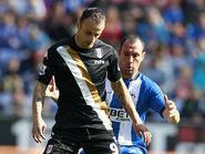 Wigan 1-2 Fulham (Berbatov)