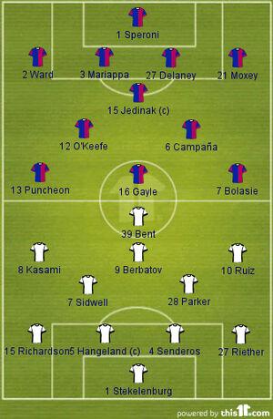 Crystal Palace 1-4 Fulham