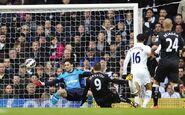 Tottenham 0-1 Fulham (Berbatov goal)