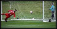 Cobh Ramblers 0-5 Fulham (Humphrys 1st goal)