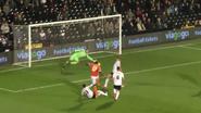 Fulham 2-2 Blackpool (Miller goal)