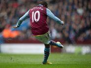 Aston Villa 1-1 Fulham (N'Zogbia goal)