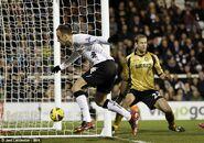 Fulham 3-1 West Ham (Berbatov goal)