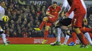 Liverpool 4-0 Fulham (Downing goal)