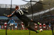 Man City 5-0 Fulham (Toure 2nd goal)