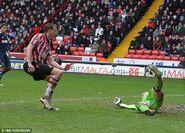 Sheff Utd 1-1 Fulham (Porter goal)