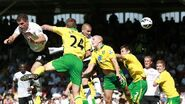 Fulham 5-0 Norwich (Petrić 1st goal)