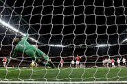 Arsenal 3-3 Fulham (Arteta pen miss)