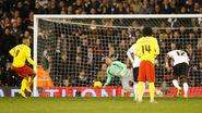 Fulham 0-5 Watford (Deeney 1st goal)