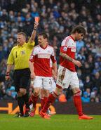 Man City 5-0 Fulham (Amorebieta red)