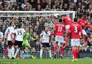 Fulham 1-2 Cardiff (Caulker goal)