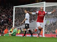 Arsenal 3-3 Fulham (Podolski goal)