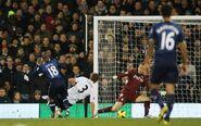Fulham 0-3 Tottenham (Defoe 1st goal)